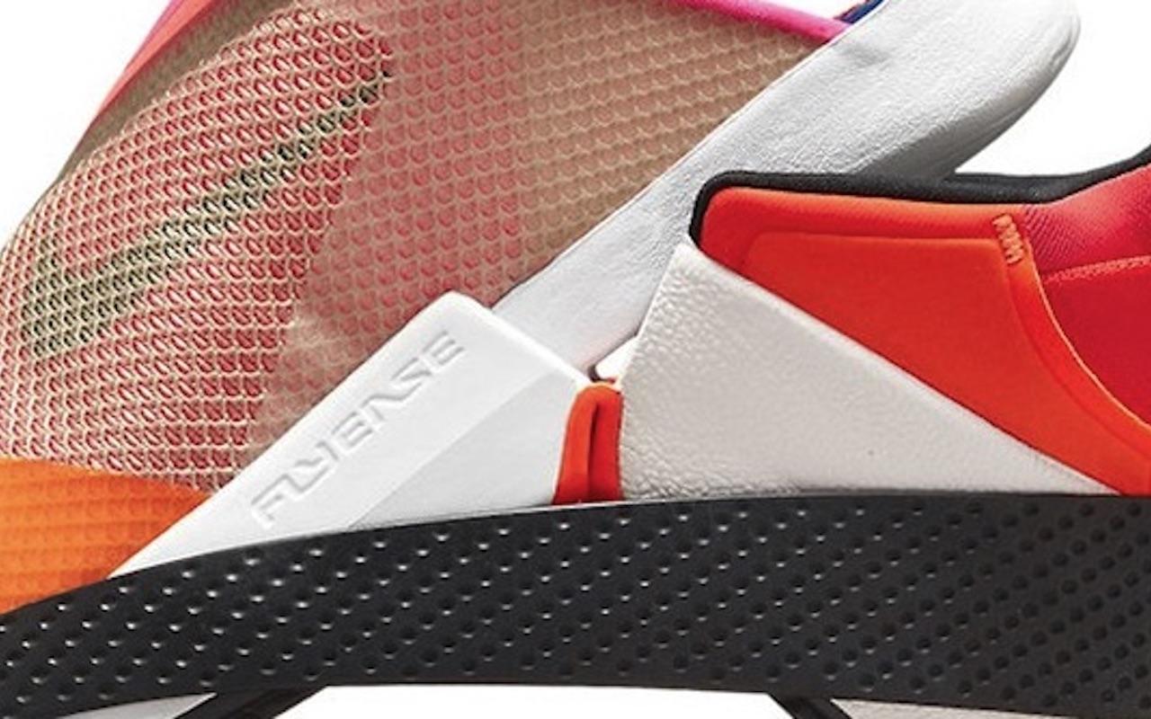 Nike GO FlyEase Red Black Colorway
