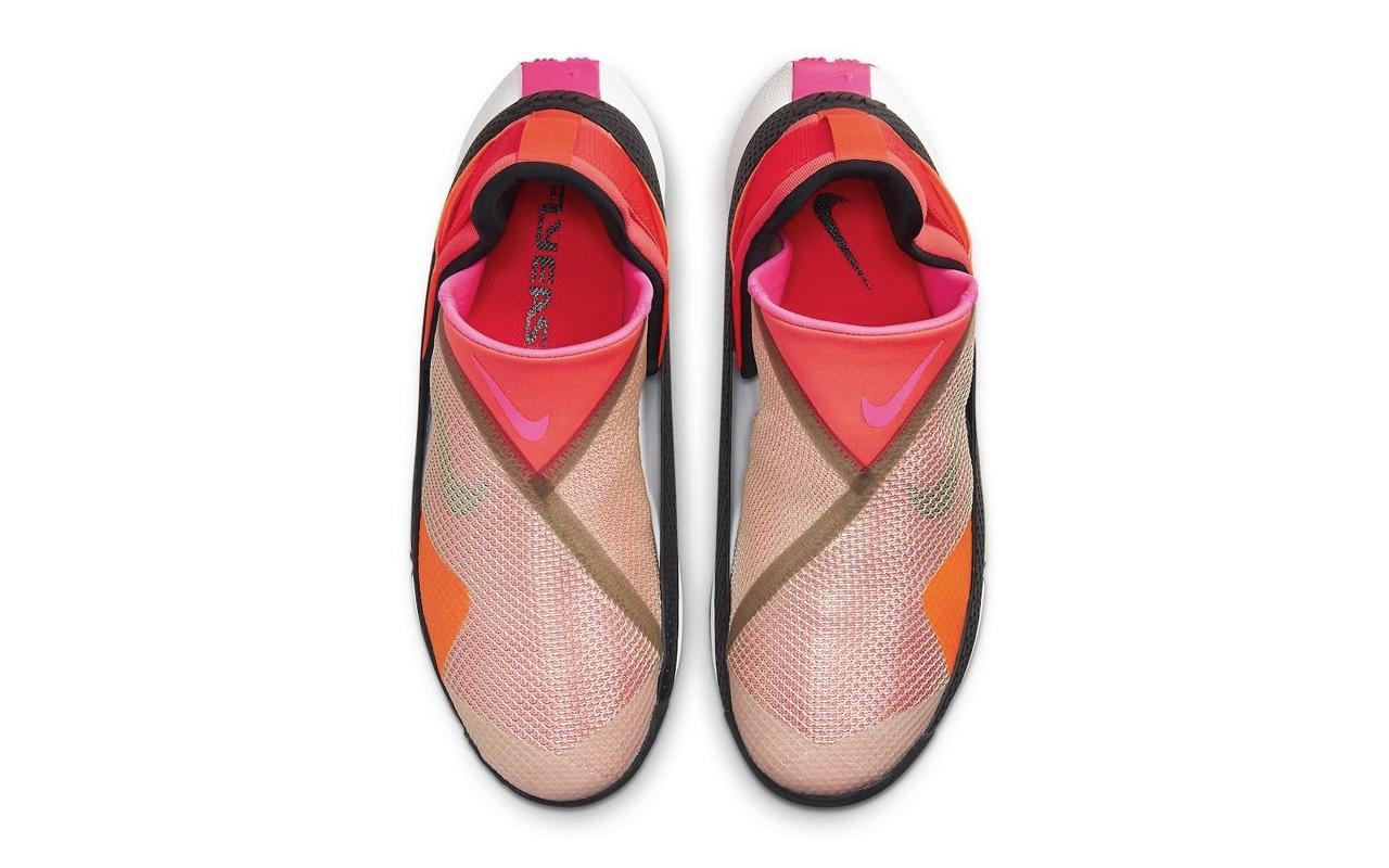 Nike GO FlyEase Red Black Design