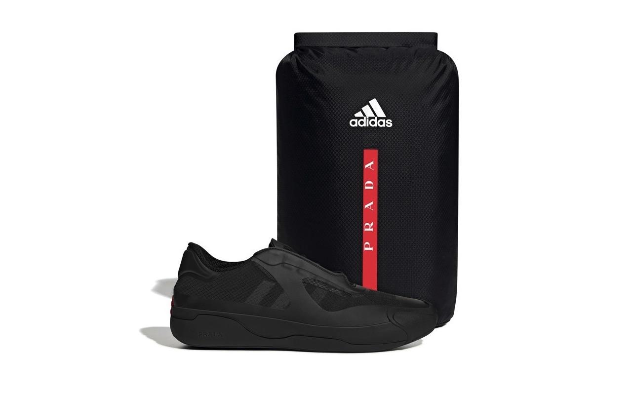 Prada Adidas A+P LUNA ROSSA 21 Core Black Red Launch