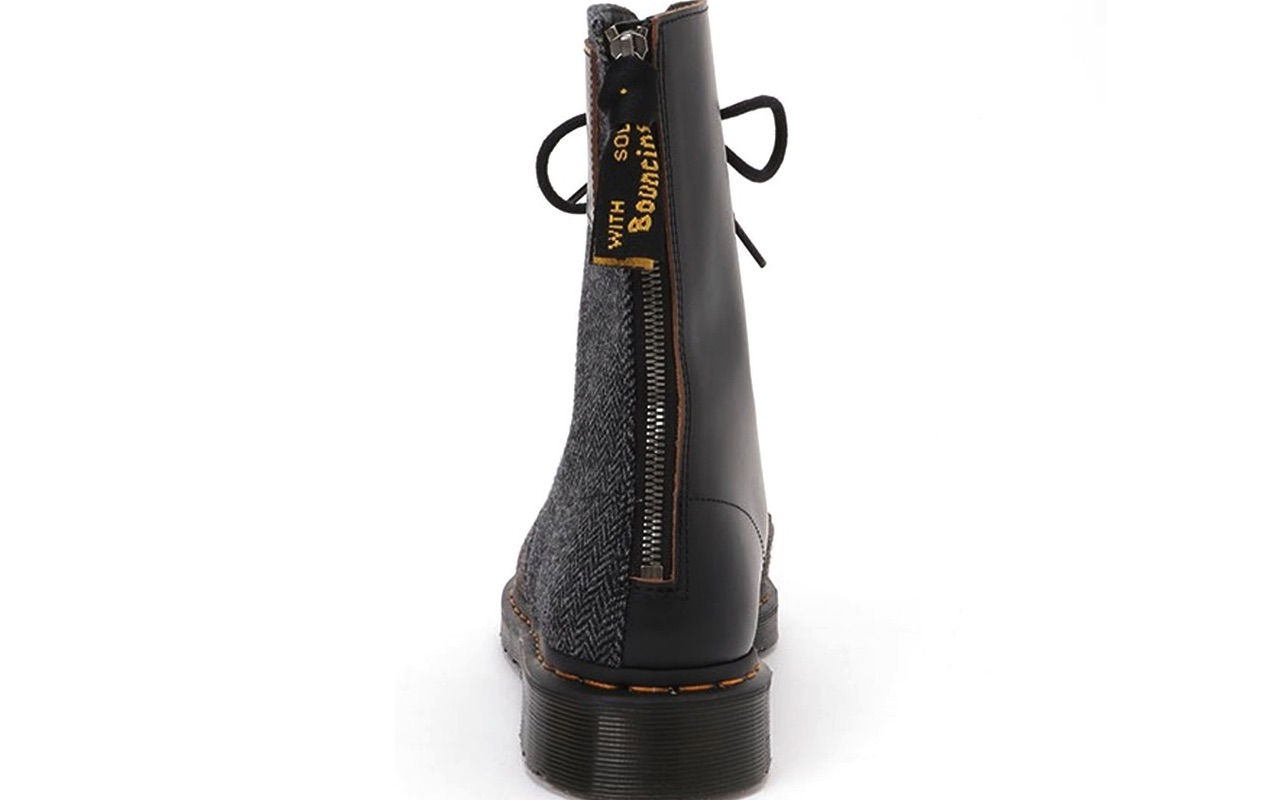 Y's × Dr.Martens 10-EYE BOOT MOON FABRIC Release