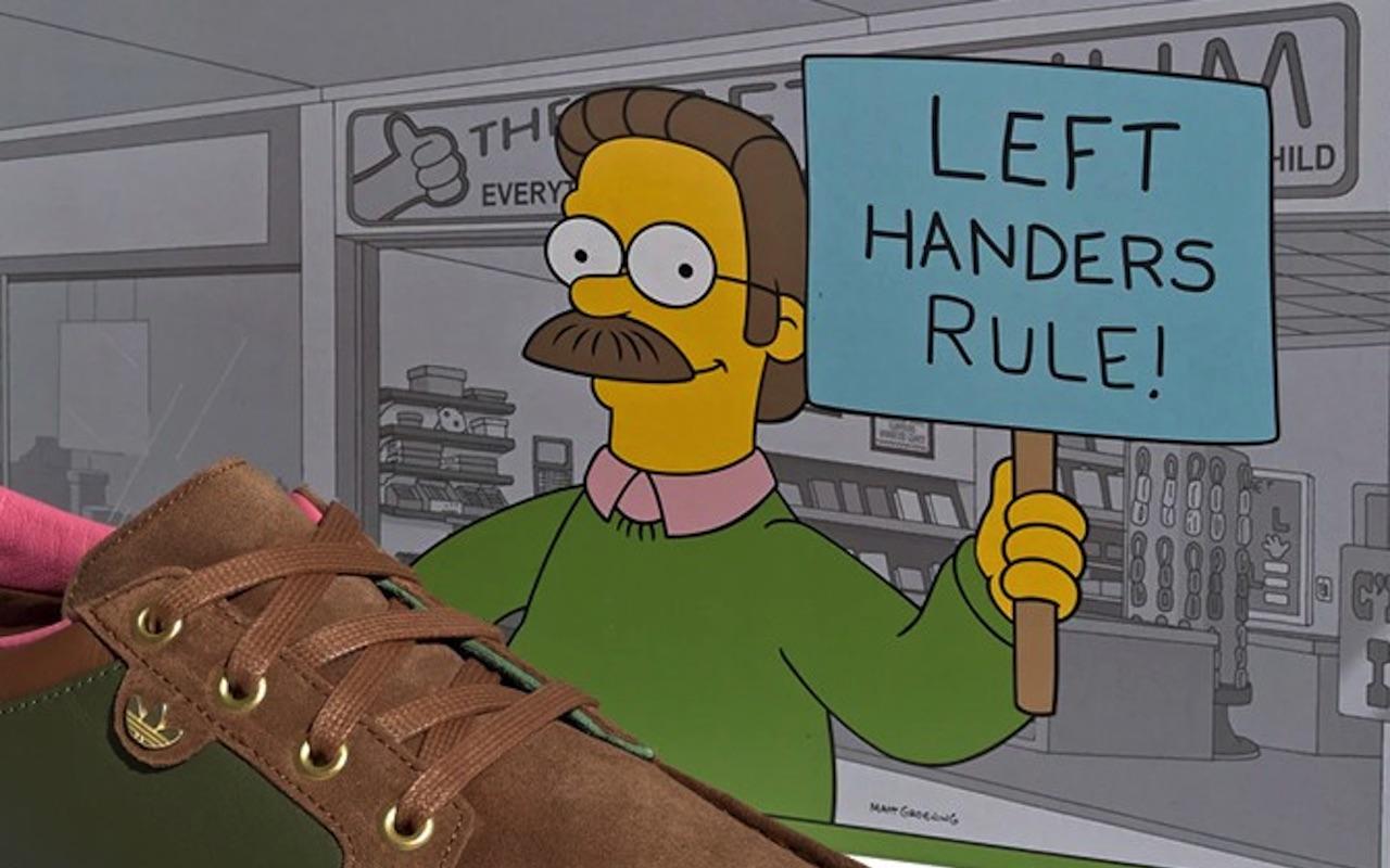 Adidas McCarten Simpsons Left Handers Rule Shoes Buy