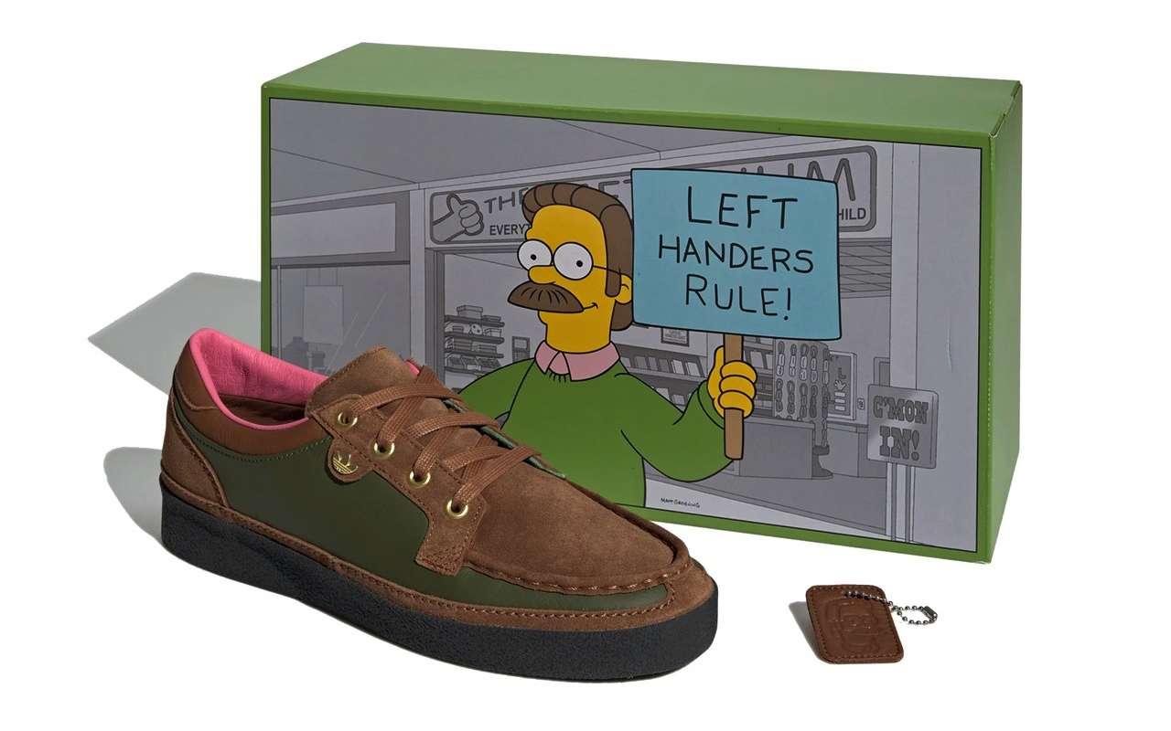 Adidas McCarten Simpsons Left Handers Rule Shoes