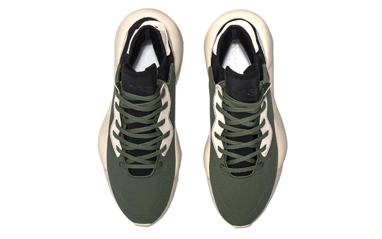 Adidas Y-3 Kaiwa Shadow Green-Black Design 2