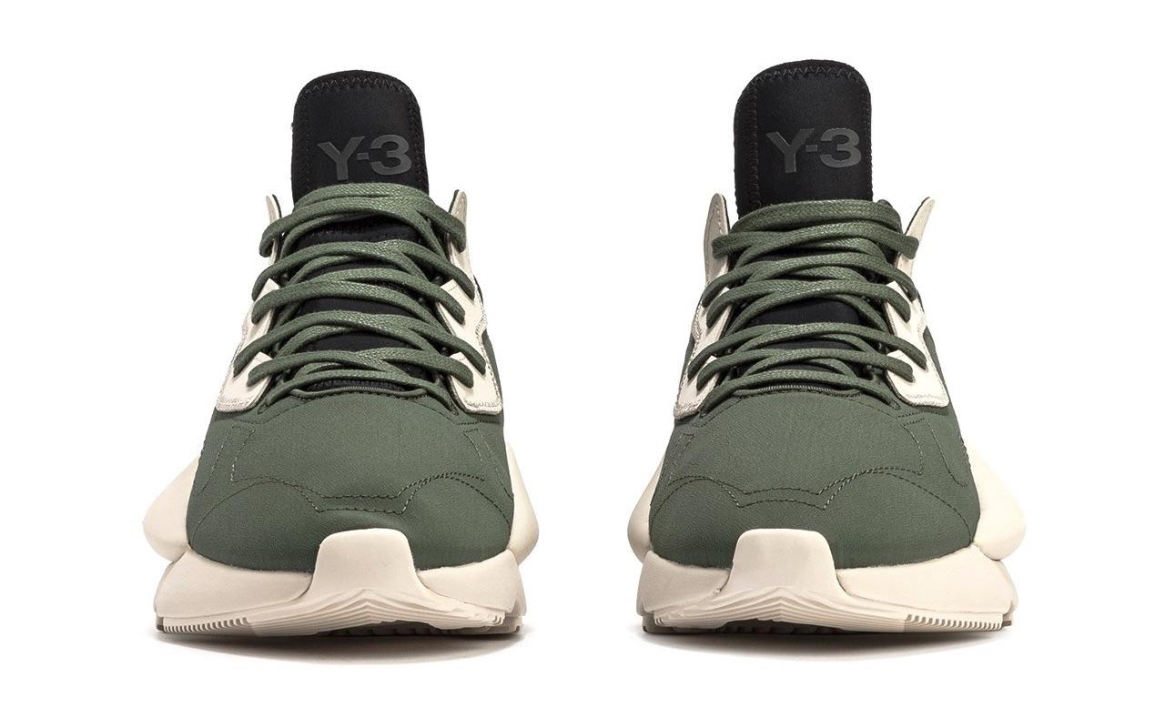 Adidas Y-3 Kaiwa Shadow Green-Black Launch