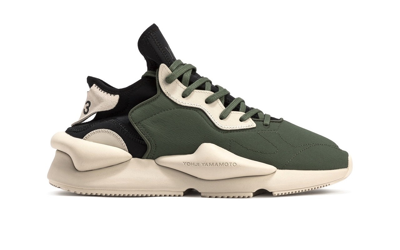 Adidas Y-3 Kaiwa Shadow Green-Black Price
