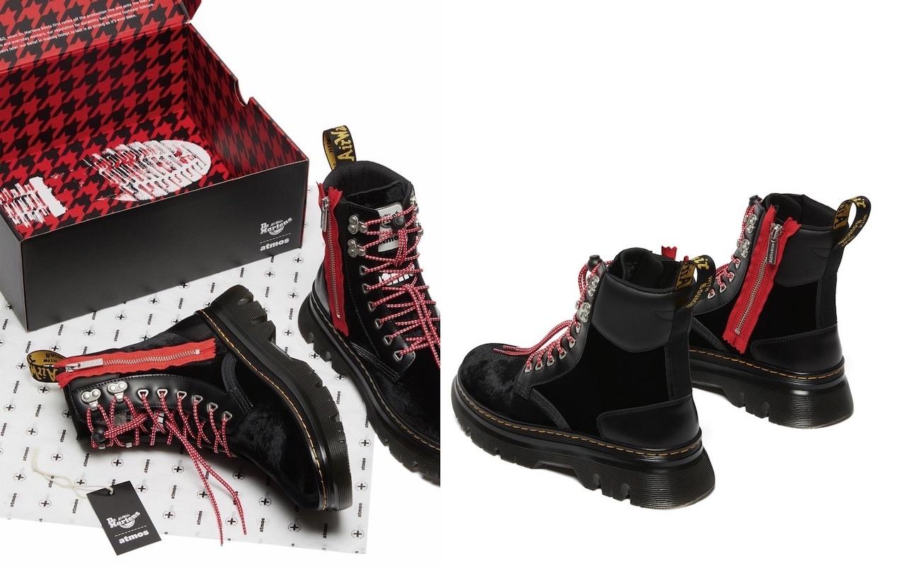 Atmos Dr Marten Tarik Zip Boots Launch
