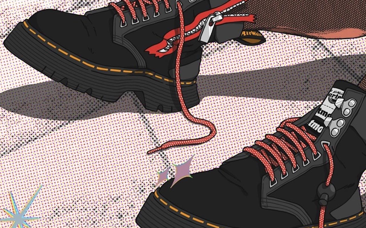 Atmos Dr Marten Tarik Zip Boots