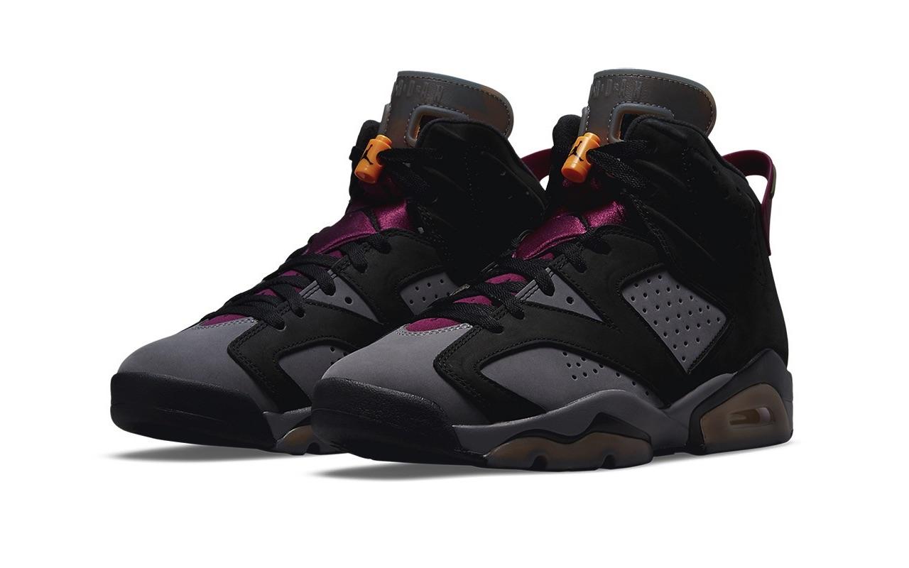 Nike Air Jordan 6 Bordeaux Release