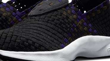 Nike Air Woven Court Purple Medium Olive Images
