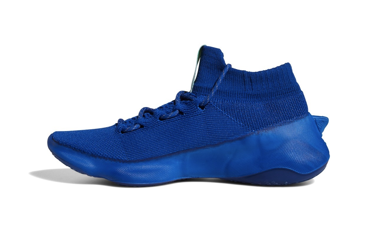 Pharrell x adidas Humanrace Sichona Team Royal Blue Easy Coral Clear Aqua 2