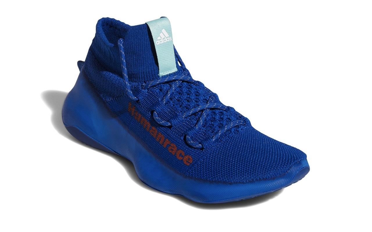 Pharrell x adidas Humanrace Sichona Team Royal Blue Easy Coral Clear Aqua 3