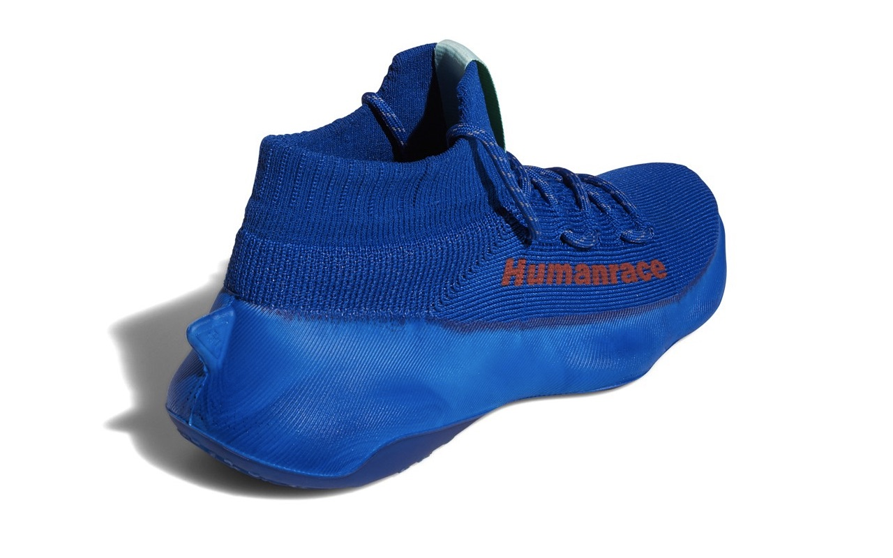 Pharrell x adidas Humanrace Sichona Team Royal Blue Easy Coral Clear Aqua 4