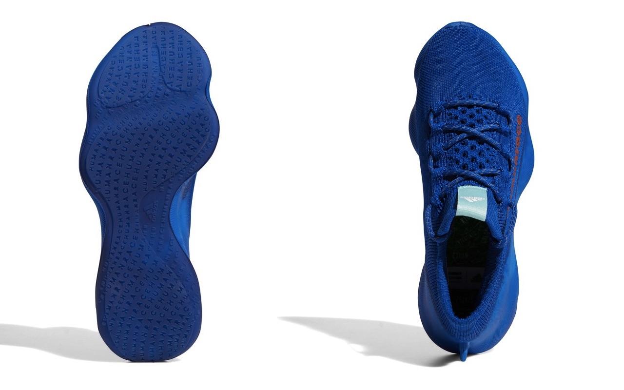 Pharrell x adidas Humanrace Sichona Team Royal Blue Easy Coral Clear Aqua 5