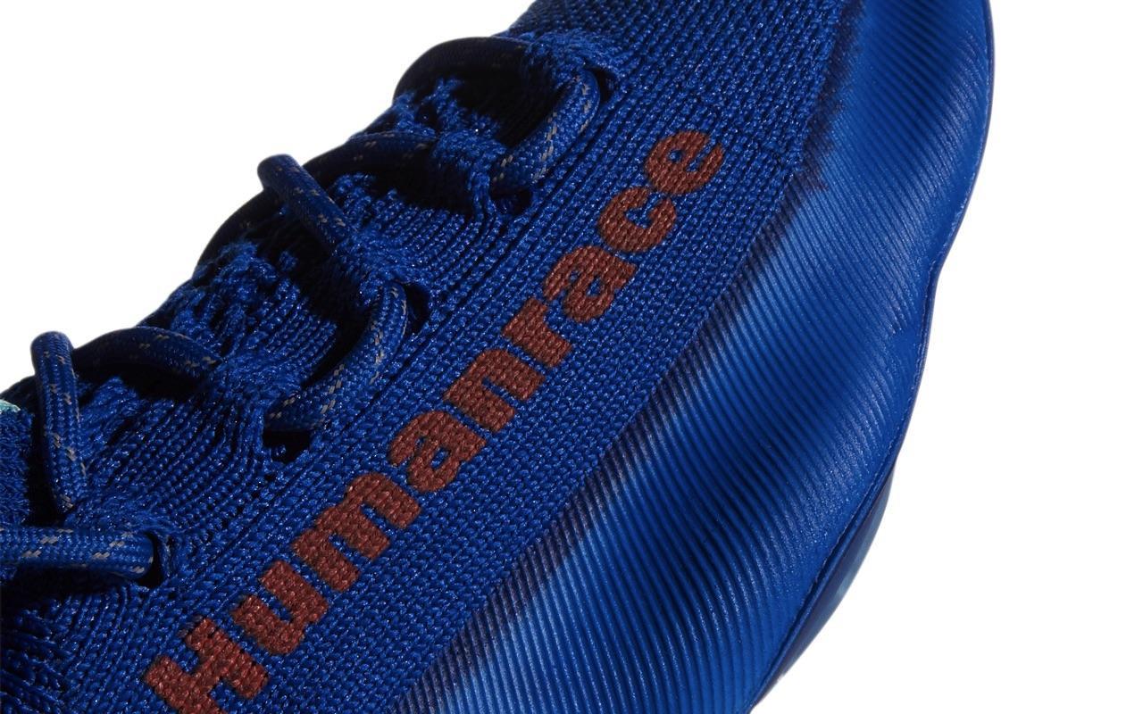 Pharrell x adidas Humanrace Sichona Team Royal Blue Easy Coral Clear Aqua 6