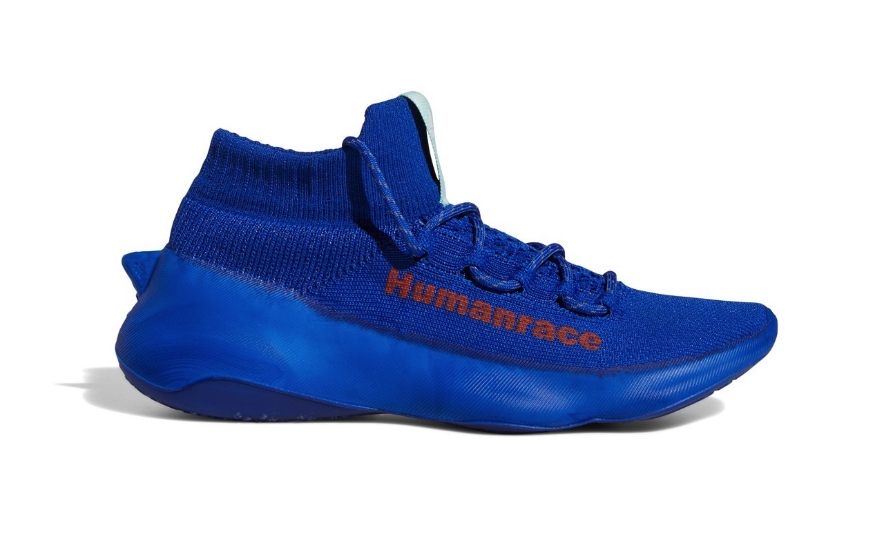 Pharrell x adidas Humanrace Sichona Team Royal Blue Easy Coral Clear Aqua
