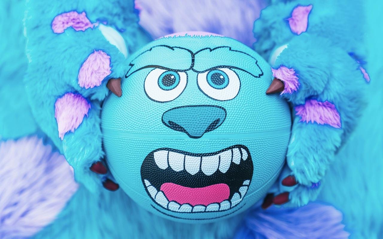 Adidas Pixar Monsters Inc 20th Anniversary Basketball Release