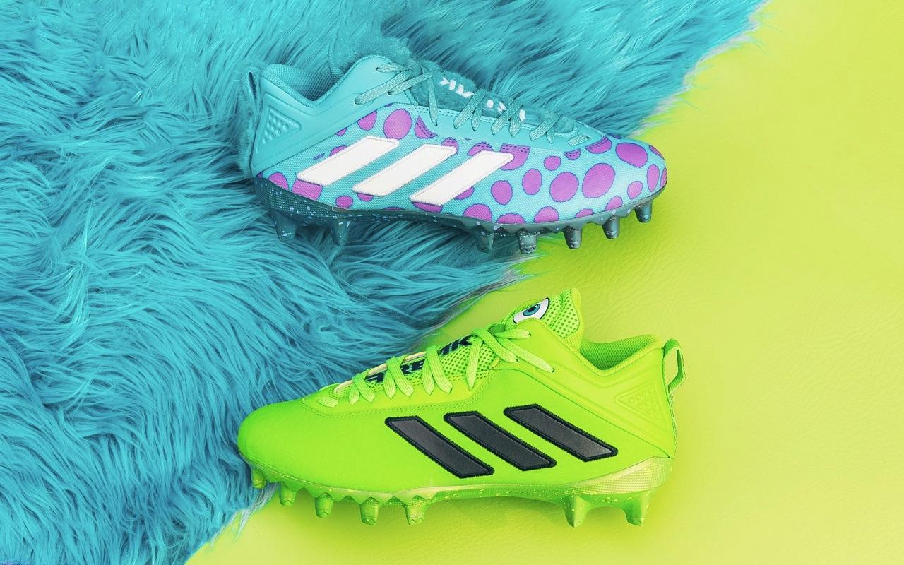 Adidas Pixar Monsters Inc 20th Anniversary Football Cleats