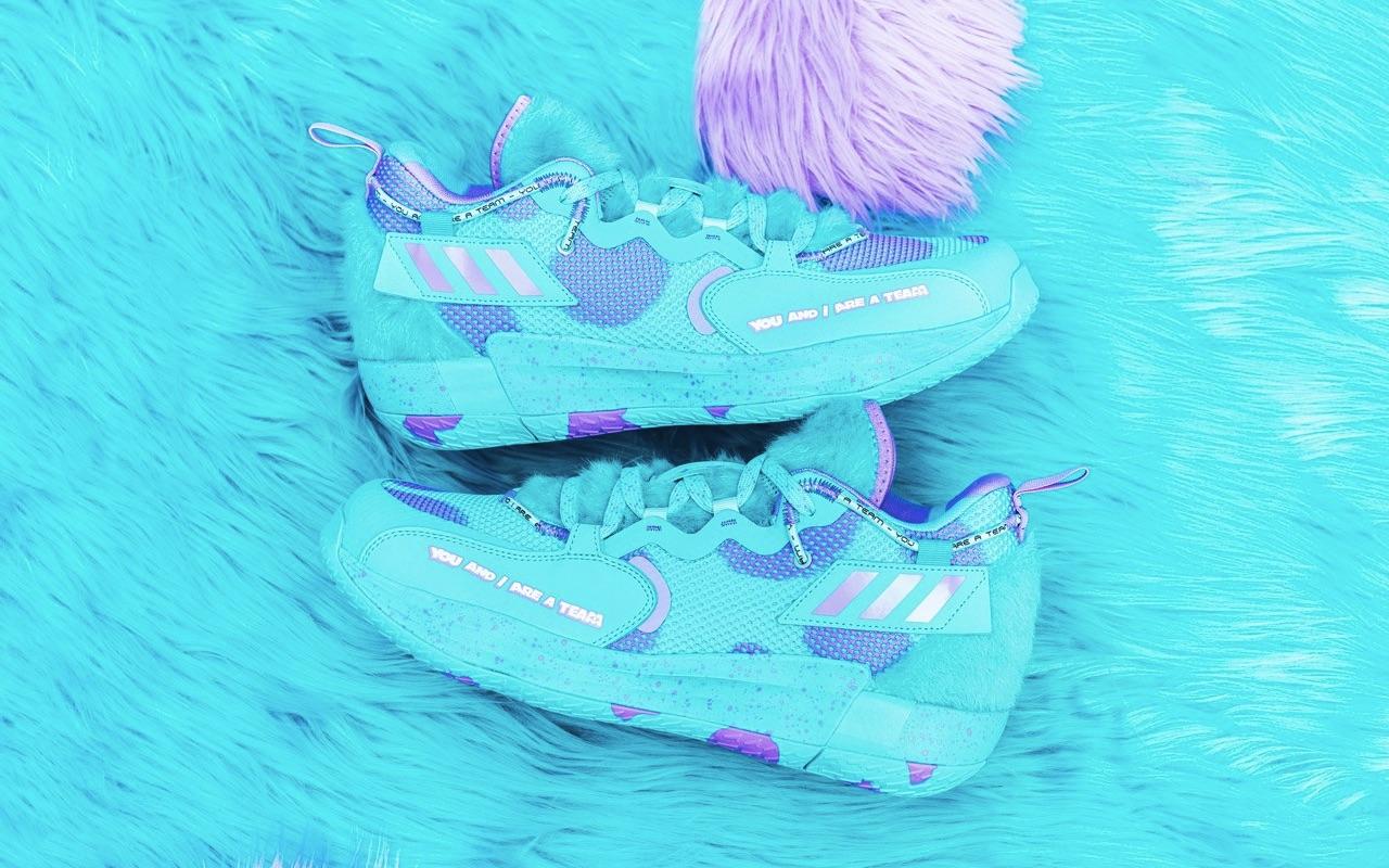 Adidas Pixar Monsters Inc Sully Adidas Dame 7 EXTPLY