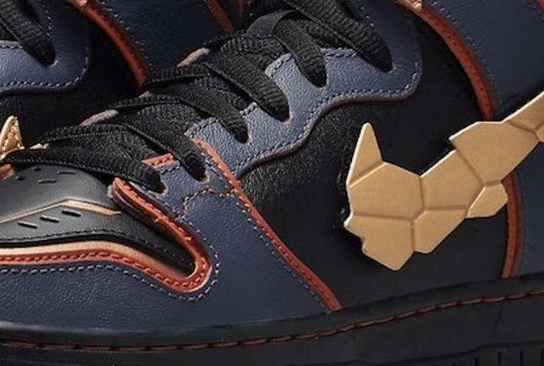 Gundam Nike SB Dunk High Banshee Sneakers Availability