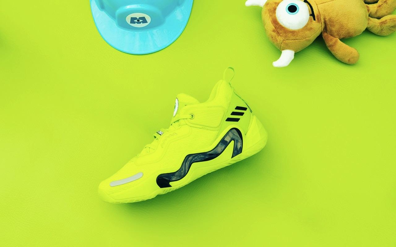 Mike Wazowski Adidas D.O.N Issue 3 Monsters Inc Pixar