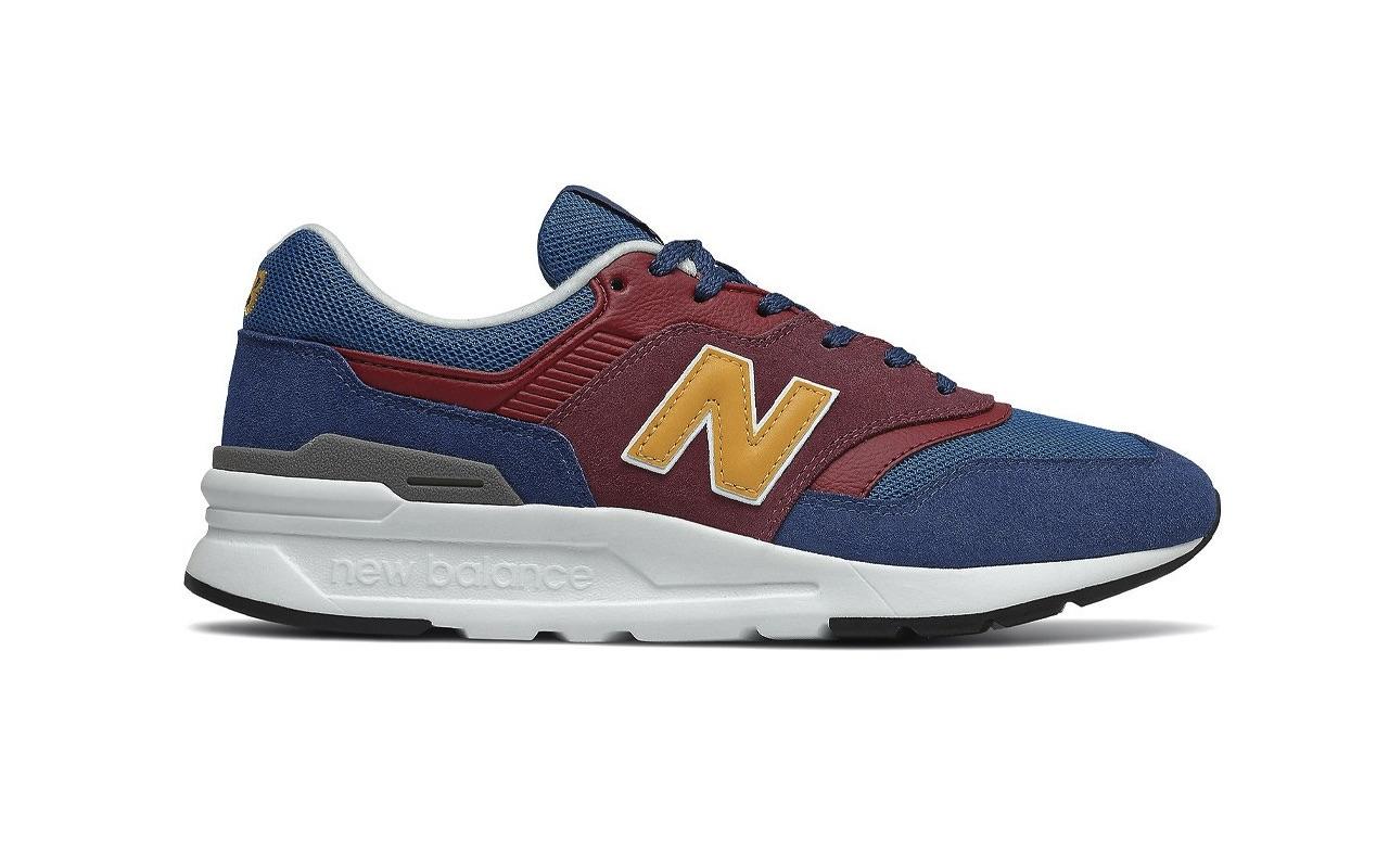 New Balance 997H Burgundy Navy