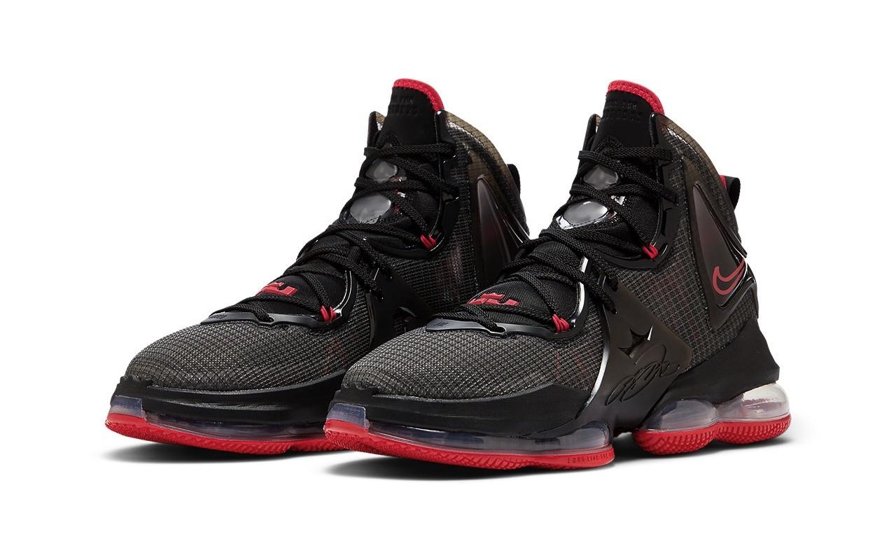 Nike LeBron 19 Bred Release