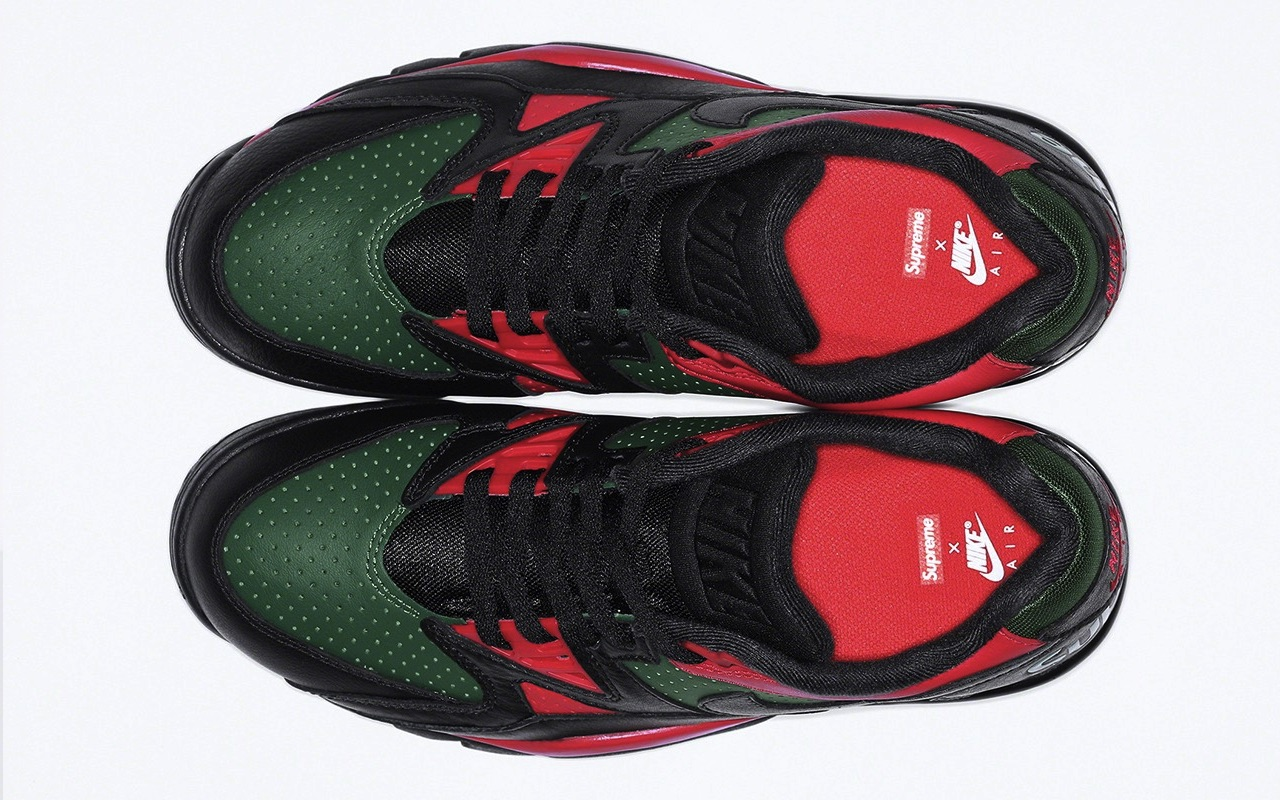 Supreme x Nike Cross Trainer Low Fall 2021 Black Gorge Green University Red